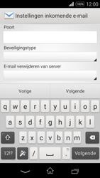Sony D2203 Xperia E3 - E-mail - Handmatig instellen - Stap 9