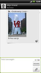 HTC X515m EVO 3D - MMS - Afbeeldingen verzenden - Stap 12
