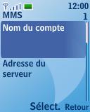 Nokia 3110 classic - Mms - Configuration manuelle - Étape 8