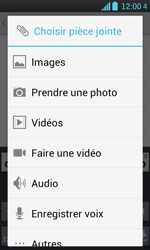 LG P700 Optimus L7 - E-mail - envoyer un e-mail - Étape 9