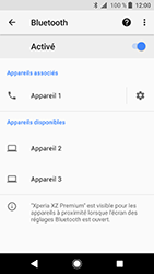 Sony Xperia XZ Premium - Android Oreo - Bluetooth - connexion Bluetooth - Étape 11