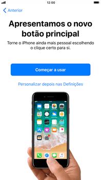 Apple iPhone 7 Plus iOS 11 - Primeiros passos - Como ligar o telemóvel pela primeira vez -  24