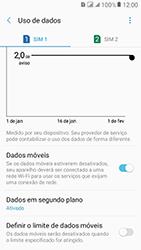 Samsung Galaxy J2 Prime - Rede móvel - Como definir um aviso e limite de uso de dados - Etapa 10