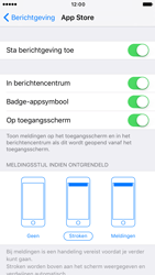 Apple iPhone 6s iOS 10 - iOS features - Bewerk meldingen - Stap 9