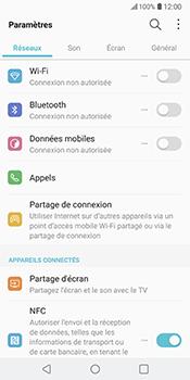 LG V30 - Appareil - Mise à jour logicielle - Étape 5