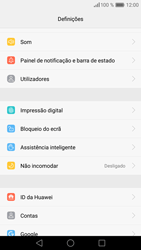 Huawei P9 Lite - Segurança - Como ativar o código de bloqueio do ecrã -  4