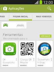 Samsung Galaxy Pocket Neo - Aplicações - Como pesquisar e instalar aplicações -  5