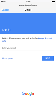 Apple iPhone 6 Plus iOS 9 - E-mail - Manual configuration (gmail) - Step 6