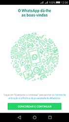 Huawei Y5 II - Aplicações - Como configurar o WhatsApp -  5
