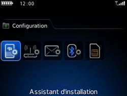 BlackBerry curve 3G - E-mails - Ajouter ou modifier un compte e-mail - Étape 4