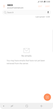 Samsung Galaxy Note9 - E-mail - Manual configuration - Step 17