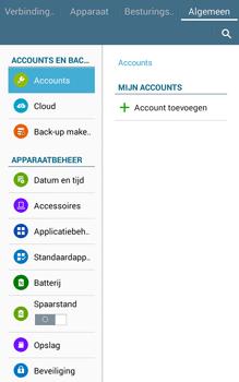 Samsung Galaxy Tab4 8.0 4G (SM-T335) - Instellingen aanpassen - Fabrieksinstellingen terugzetten - Stap 5
