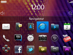 BlackBerry 9360 Curve - Internet - Navigation sur Internet - Étape 2