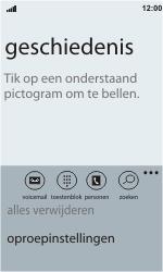HTC C110e Radar - Voicemail - Handmatig instellen - Stap 5