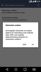 LG K8 - Netwerk - Handmatig netwerk selecteren - Stap 12