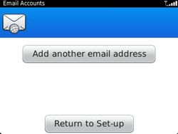 BlackBerry 9320 Curve - E-mail - Manual configuration - Step 12
