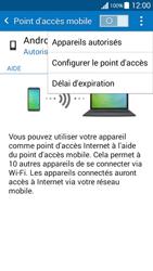 Samsung Galaxy Grand Prime (G530FZ) - Internet et connexion - Partager votre connexion en Wi-Fi - Étape 7