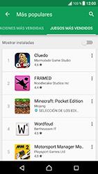 Sony Xperia XZ - Android Nougat - Aplicaciones - Descargar aplicaciones - Paso 13