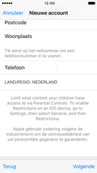 Apple iPhone 5c met iOS 9 (Model A1507) - Applicaties - Account aanmaken - Stap 23