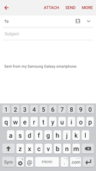 Samsung J500F Galaxy J5 - E-mail - Sending emails - Step 5