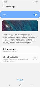 Samsung Galaxy A40 - Beveiliging - stel in of wijzig pincode voor je toestel - Stap 11