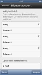 Apple iPhone 5 - Applicaties - Account aanmaken - Stap 9