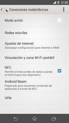 Sony Xperia M2 - Mensajería - Configurar el equipo para mensajes multimedia - Paso 5
