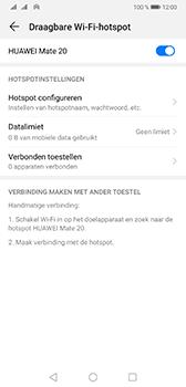 Huawei Mate 20 - Internet - Stel mobiele hotspot in - Stap 10