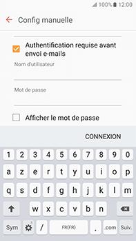 Samsung Galaxy J7 (2016) (J710) - E-mail - Configuration manuelle - Étape 13