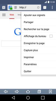 LG G4 - Internet et connexion - Naviguer sur internet - Étape 7
