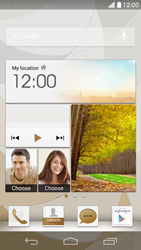 Huawei Ascend P6 LTE - E-mail - Manual configuration (yahoo) - Step 1
