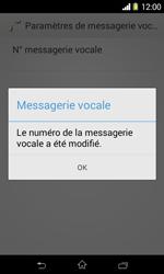 Sony D2005 Xperia E1 - Messagerie vocale - configuration manuelle - Étape 10