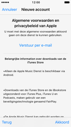 Apple iPhone 5c met iOS 10 (Model A1507) - Applicaties - Account aanmaken - Stap 10