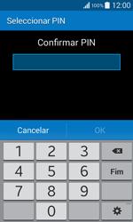 Samsung Galaxy Core II - Segurança - Como ativar o código de bloqueio do ecrã -  9