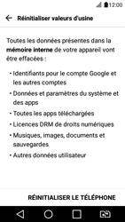 LG K4 2017 - Device maintenance - Retour aux réglages usine - Étape 7