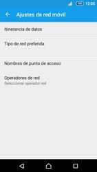 Sony Xperia Z5 Compact - Red - Seleccionar una red - Paso 6