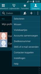 Samsung G900F Galaxy S5 - Contacten en data - Contacten kopiëren van toestel naar SIM - Stap 5
