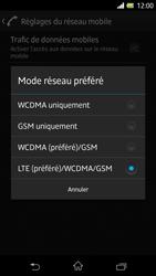 Sony Xpéria Z - Internet et connexion - Activer la 4G - Étape 7