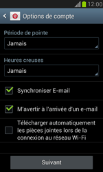 Samsung I8190 Galaxy S III Mini - E-mail - Configuration manuelle (outlook) - Étape 8