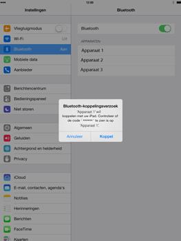 Apple iPad Air - Bluetooth - headset, carkit verbinding - Stap 6