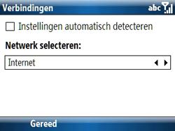 Samsung C6620 - Internet - handmatig instellen - Stap 19