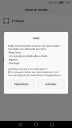 Huawei Nova - E-mail - Configuration manuelle - Étape 5