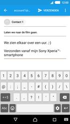 Sony E2303 Xperia M4 Aqua - E-mail - e-mail versturen - Stap 8