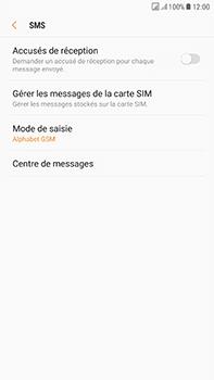 Samsung J730F Galaxy J7 (2017) (DualSIM) - SMS - configuration manuelle - Étape 11