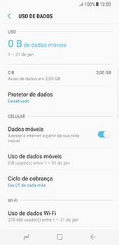 Samsung Galaxy S8 - Rede móvel - Como ativar e desativar uma rede de dados - Etapa 6