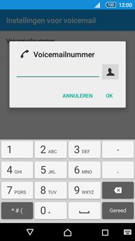 Sony Xperia Z5 Premium (E6853) - Voicemail - Handmatig instellen - Stap 8