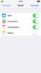 Apple iPhone SE iOS 11 - E-mail - Configurar Gmail - Paso 8