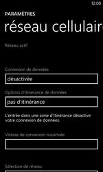 Nokia Lumia 520 - Internet - activer ou désactiver - Étape 7