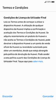 Huawei Mate 9 - Primeiros passos - Como ligar o telemóvel pela primeira vez -  5