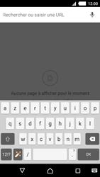Sony Xperia M4 Aqua - Internet et connexion - Naviguer sur internet - Étape 8